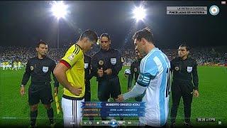 Argentina vs Colombia - Copa América 2015 - Partido completo