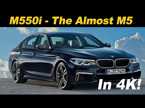 2018 BMW M550i xDrive First Drive Review In 4K UHD!