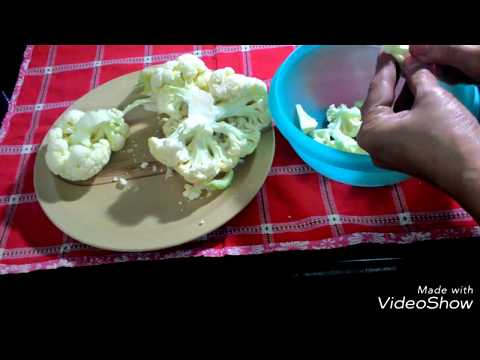 Right way to clean Gobhi/ Cauliflower||How to Clean Gobhi to get rid of Bugs