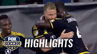 Columbus Crew SC vs. New York Red Bulls | 2017 MLS Highlights