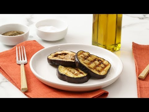 Grilled Eggplant- Martha Stewart