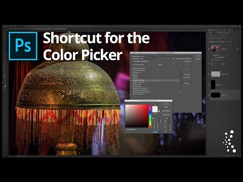 Cool Photoshop Tip:  Making A Shortcut For the Color Picker