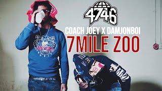 Coach Joey x DamJonBoi - 7Mile Zoo (Official Music Video)