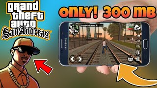 200Mb GTA Sa Lite With Full Cleo Cheats For Android Nougat