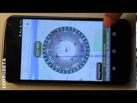 Compass Pro on Google Map
