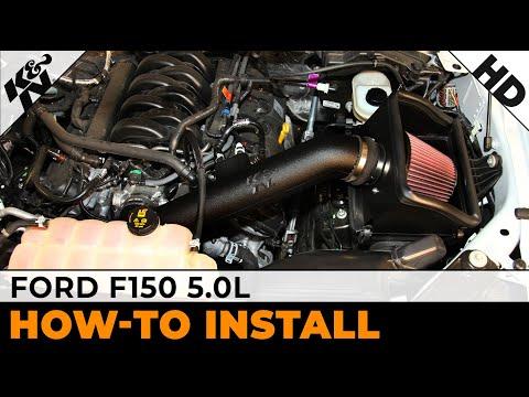 2011, 2012, 2013 & 2014 Ford F150 5.0L Non-Metallic Air Intake Installation