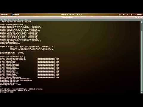 Arch Linux Tutorial: How-to Compile Packages from Source using the ABS
