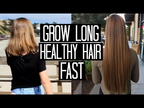 Grow Long, Healthy Hair Fast!