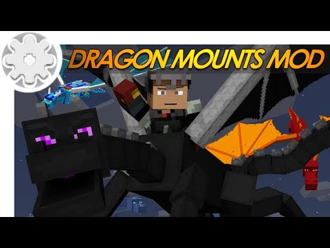 Minecraft: Dragon Mounts! HOW TO RIDE A DRAGON IN MINECRAFT! (Mod Showcase)