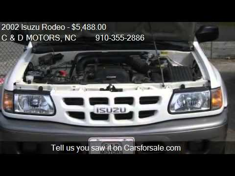2002 Isuzu Rodeo S 2WD 4dr SUV for sale in Jacksonville, NC