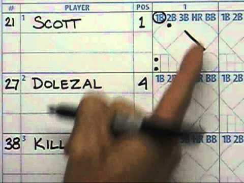 Keeping a scorebook pt1