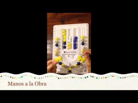 Tutorial Collares Chunky Gumballs (Chunky Gumballs Necklace - Spanish)