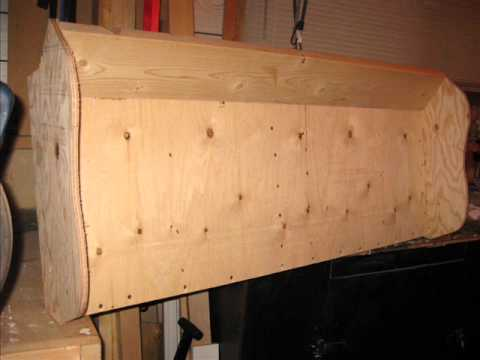Home Made ATV Plywood Snow Plow