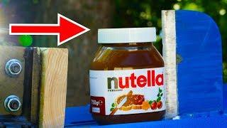 EXPERIMENT KINETIC SPLITTER VS NUTELLA