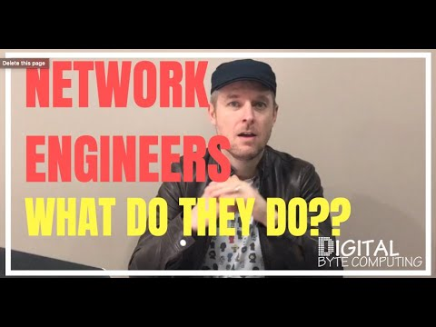 What does a Network Engineer do?