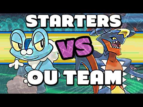 All Starter Pokemon Team! - Pokemon Omega Ruby and Alpha Sapphire Wifi Battle - ToyDualer