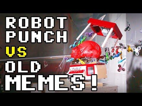 ROBOPUNCH vs OLD MEMES : Experiment #3