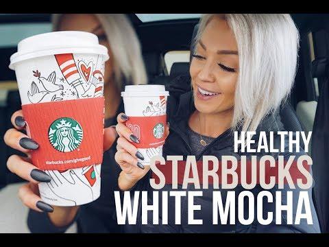 Starbucks Low Calorie White Mocha Coffee