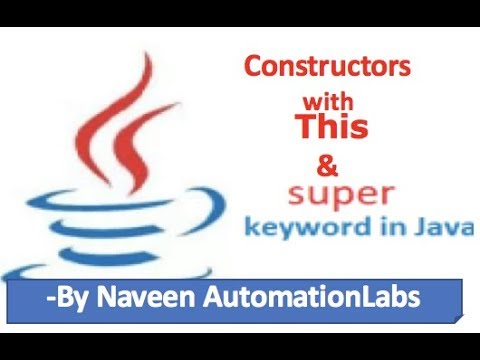 This and Super keywords with Constructor Examples In Java