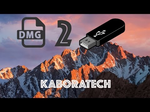 Mac OS X convert DMG to USB install