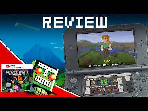 Minecraft (3DS) Review | Destructoid