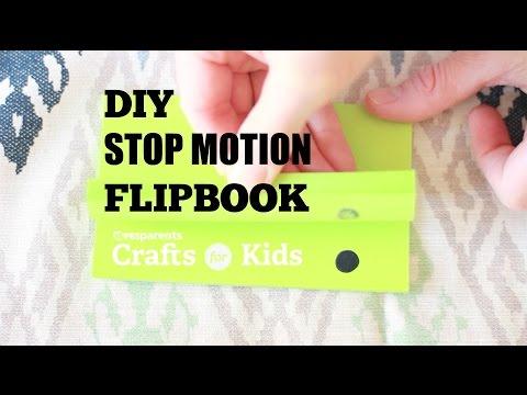 DIY Stop Motion Flipbook