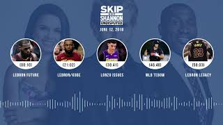 UNDISPUTED Audio Podcast (6.12.18) with Skip Bayless, Shannon Sharpe, Joy Taylor | UNDISPUTED