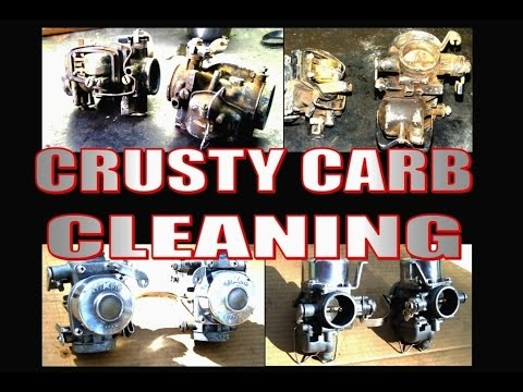 Crusty Carb cleaning