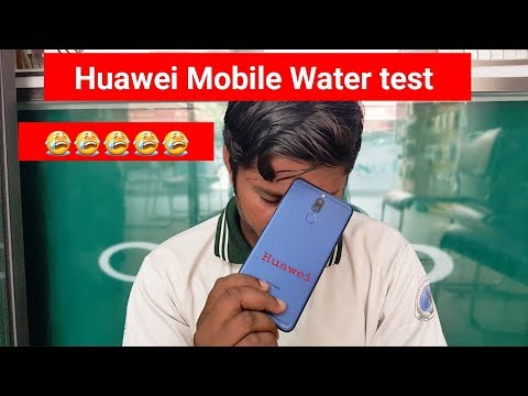 Huawei Mobile Water Test | 😭😭😭 | Fail