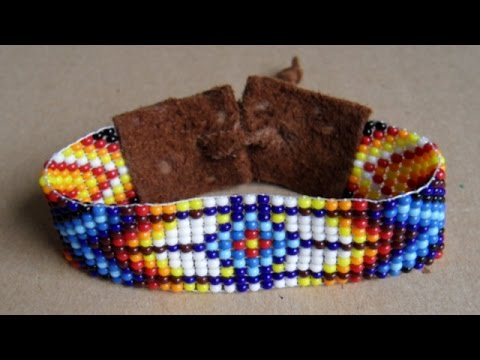 Use a Loom to Weave a Beaded Bracelet - Style - Guidecentral