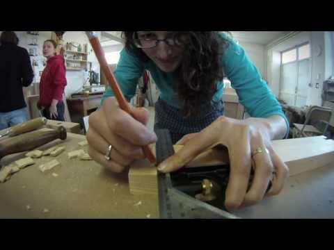 Building a tray - ekodrevo workshop