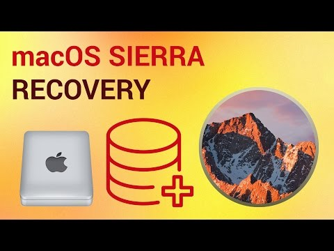 How to Create Recovery Disk on mac OS Sierra