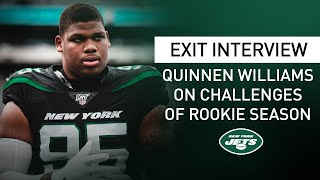 """Quinnen Williams Exit Interview: """"This Defense Has A Huge Bond"""" 