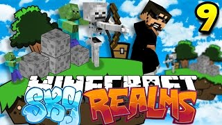 Minecraft: SKYREALMS CHALLENGE | ZOMBIE ARE STUPID [9]