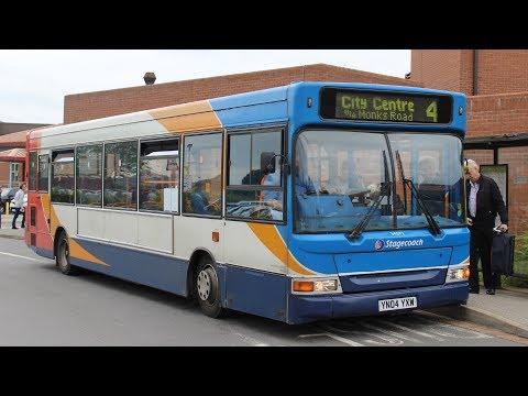 Stagecoach East Midlands   Transbus Pointer 2/Transbus Dart   4 to County Hospital   34572 (YN04YXW)