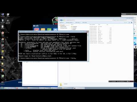 How to split LARGE TEXT file into smaller using split utility on Windows