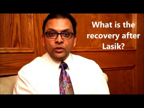 Week 5: What is the recovery after lasik - Your Questions Answered with Dr. Patodia
