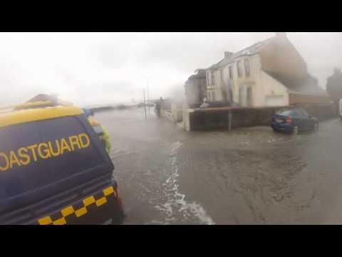 Saltcoats Flooding - 3 January 2014