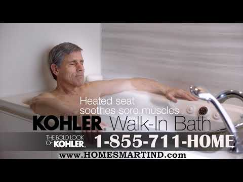 KOHLER® Walk In Bath Tub