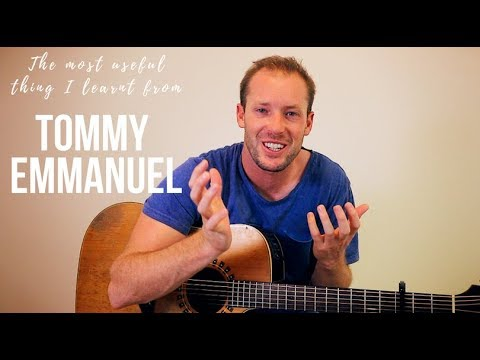 The MOST USEFUL thing I learnt from Tommy Emmanuel - Thursday Tech Tips