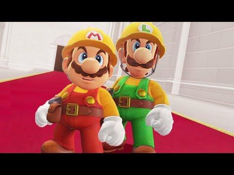 Builder Mario & Builder Luigi in Super Mario Odyssey - Final