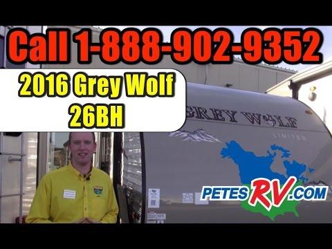 2016 Greywolf 26BH | Pete's RV Rough Cuts