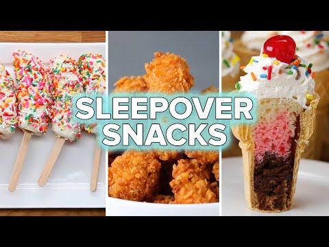6 Sleepover Party Snack