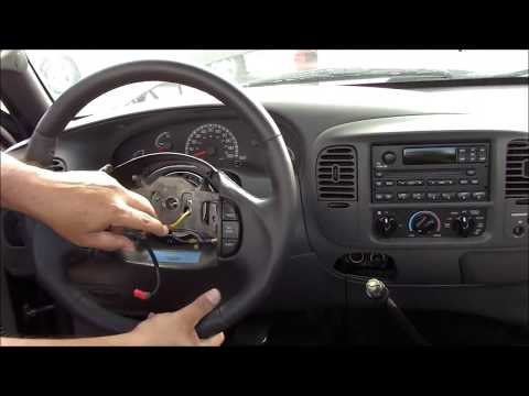 1997-2004 Ford Truck / SUV Air Bag Steering Wheel Black Installation Tutorial How-To