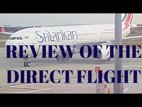 Review of Sri Lankan Airlines Direct Flight from Melbourne to Colombo