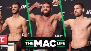 UFC Boston Official Weigh-Ins: Main Card