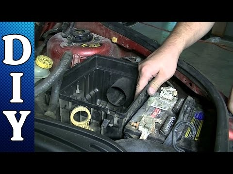 How to Remove and Replace a Battery on a Chrysler Pt Cruiser