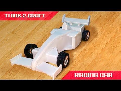 Amazing RC F1 Racing Car using sunborad