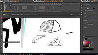 Stream 2, 17 septembre - Animation Project : Swordsman