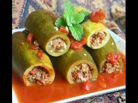 Kousa Mahsi كوسة محشي How To Cook Middle Eastern Food